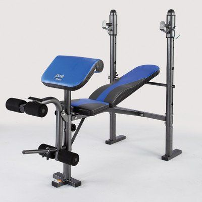 Pure Fitness Multi-Purpose Mid-Width Weight Bench