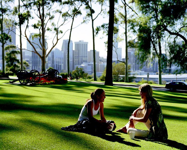 Enjoy & Unwind. Kings Park.