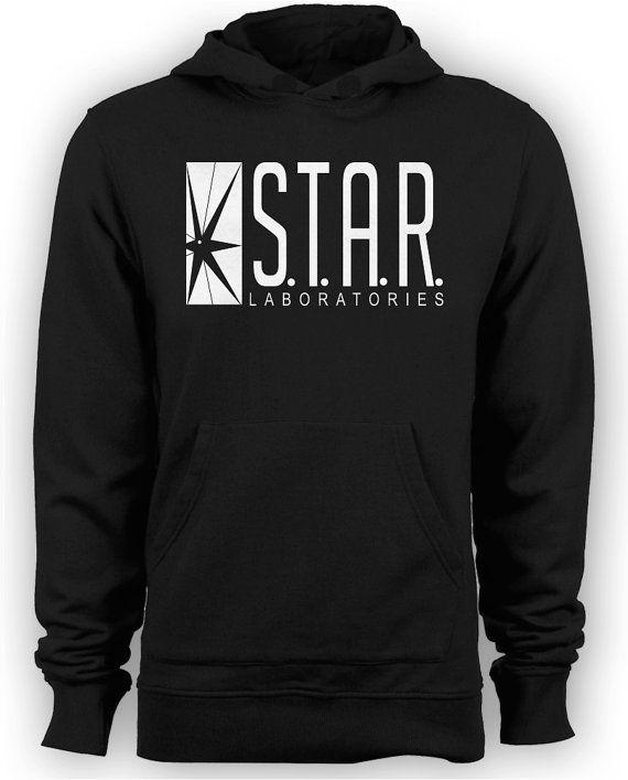 The Flash / Arrow Star Labs TV Series Hoodie by MetaCortexShirts