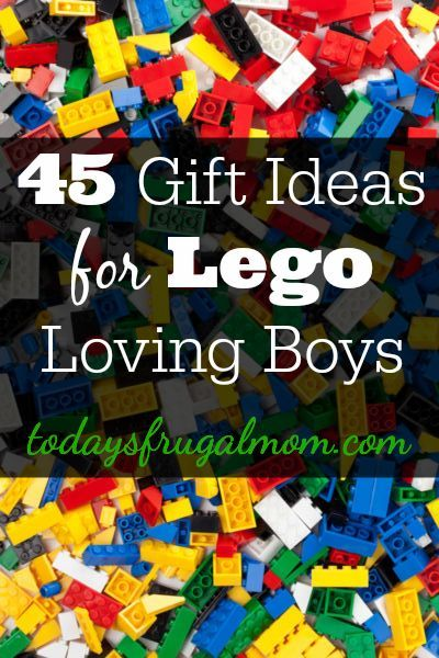 Come see these 45 gift ideas handpicked for Lego loving boys! :: http://TodaysFrugalMom.com