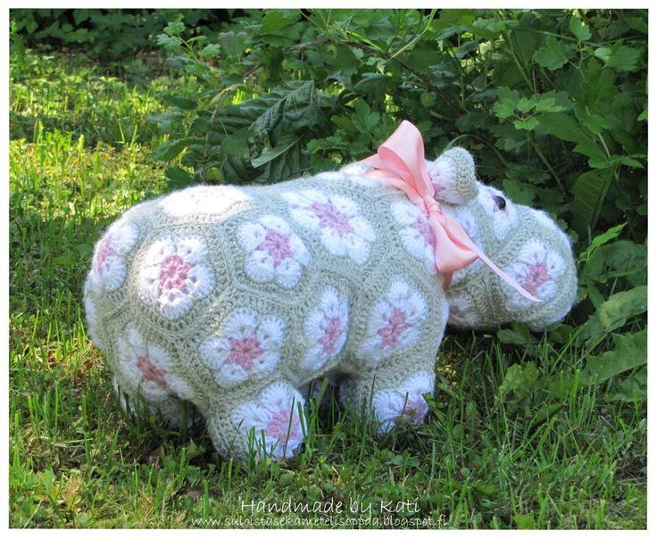 Crochet, my Hippo Happypotamus