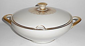 Winterling Bavaria Porcelain China Gold Tureen W/lid