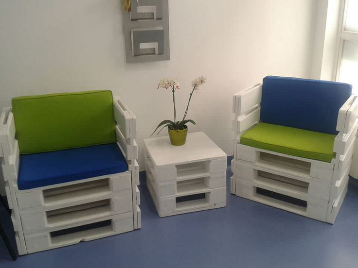 #LivingRoom, #PalletChair, #PalletTable, #RecyclingWoodPallets