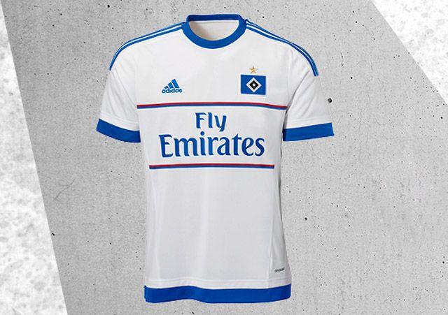 Camisas do Hamburgo SV 2015-2016 Adidas