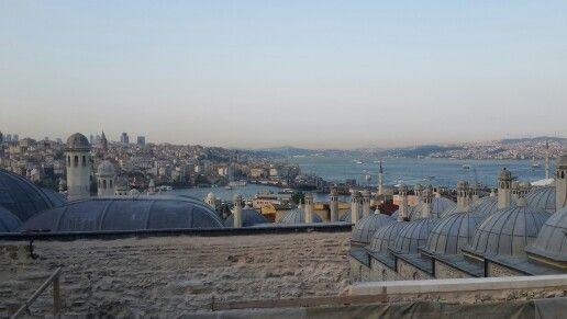 Istanbul Süleymaniye'den Boğaziçi