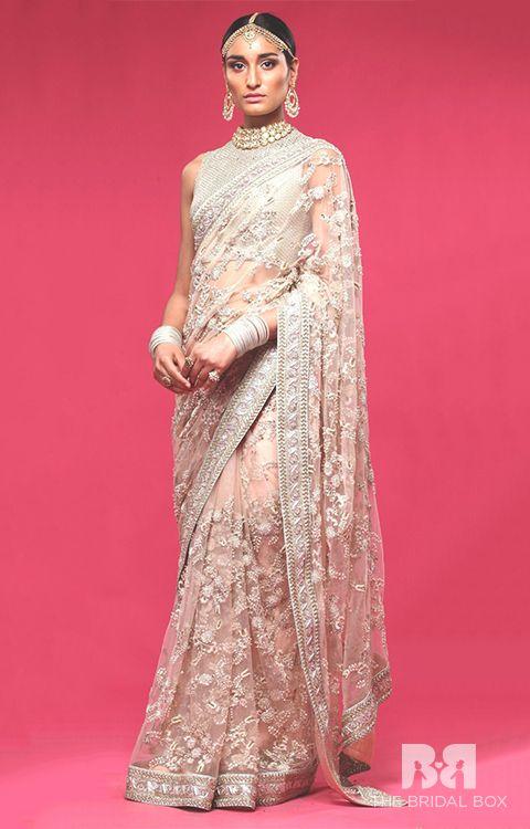 10 Sensational Sabyasachi Bridal Lehenga Saree Twists To Sashay In Style