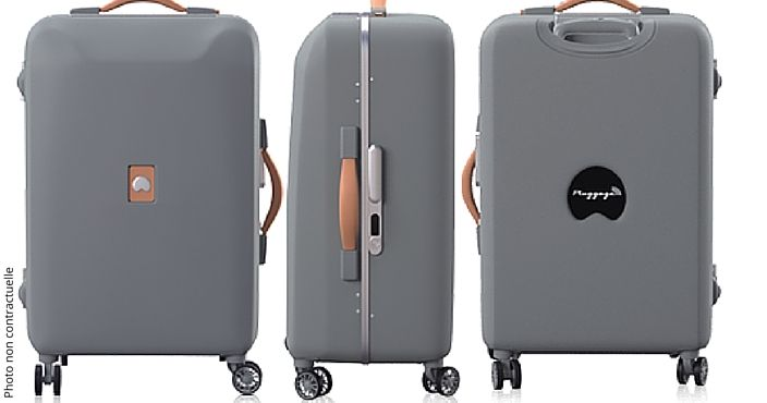 La Valise Delsey En Vogue Made in France | Resamaurice