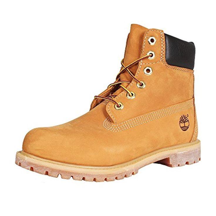 Timberland 6″ Premium Boot – W, Chaussures Montantes femme – Marron (Wheat Nubuck) 2018