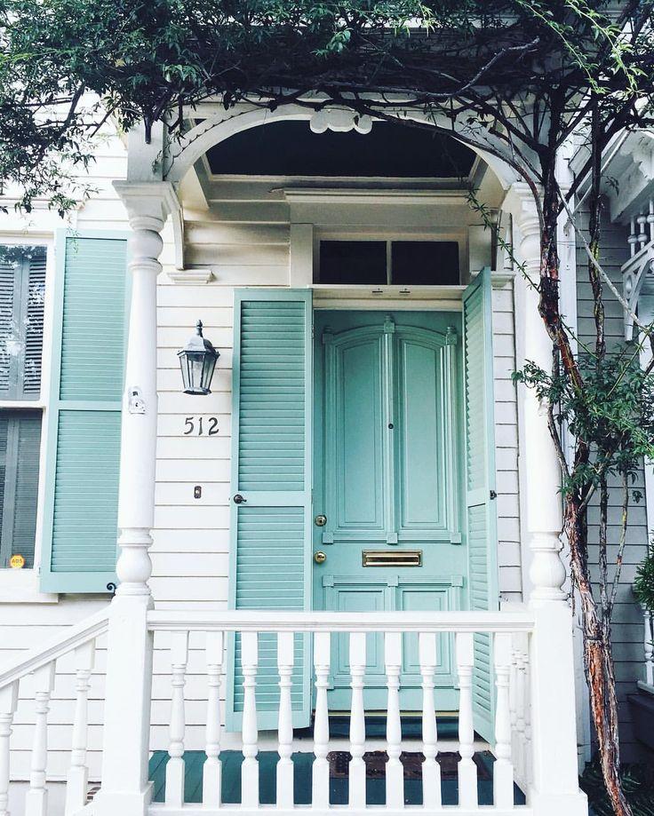 Atlanta Bungalow Renovation: Best 25+ Mint Door Ideas On Pinterest