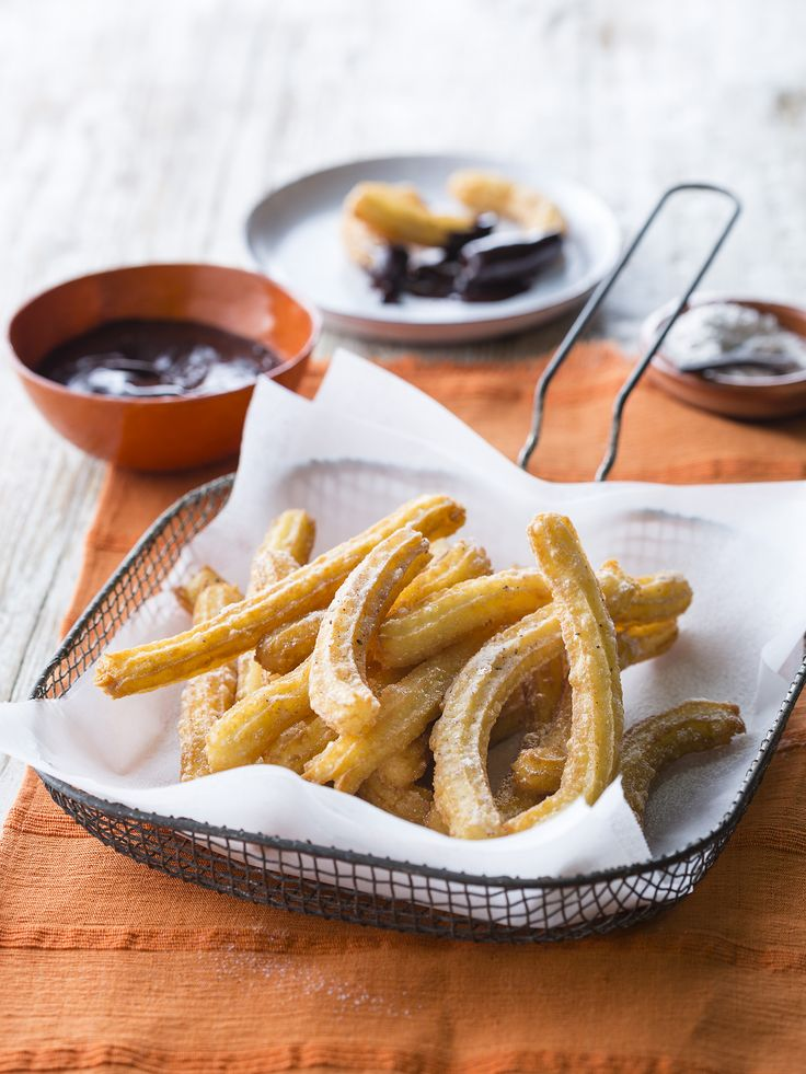 """Thermomix   Churros   Entertaining with Dani Valent cookbook + recipe chip   """"Mexican"""" menu plan  """