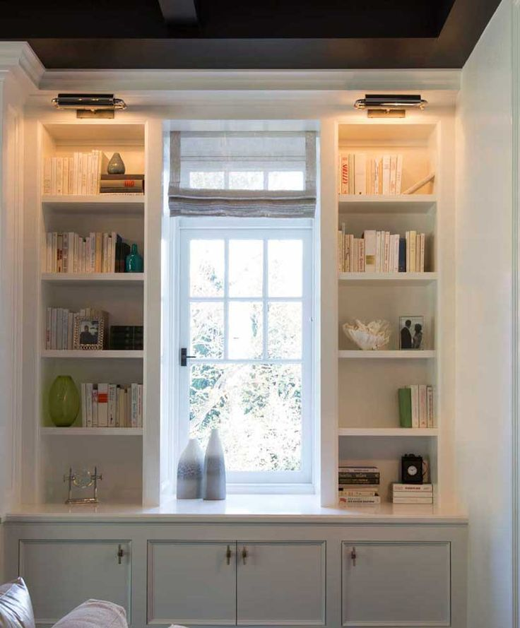 Bookcase And Library Lights