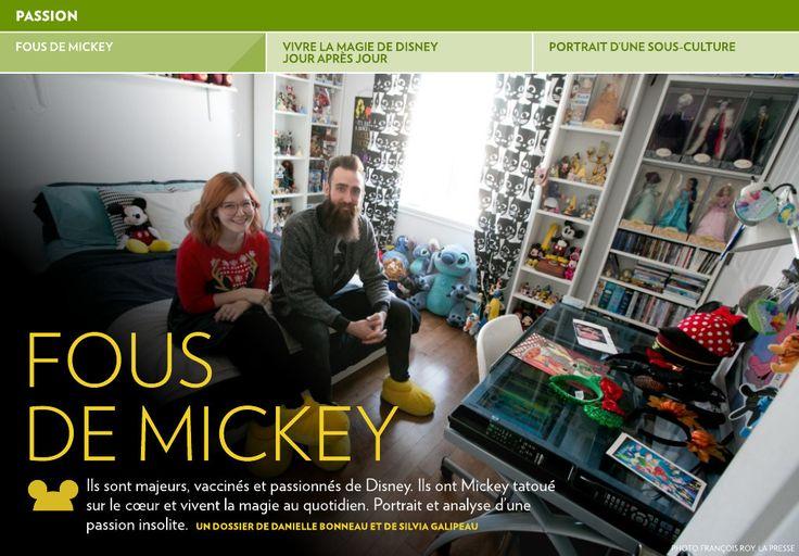 Fous de Mickey - La Presse+