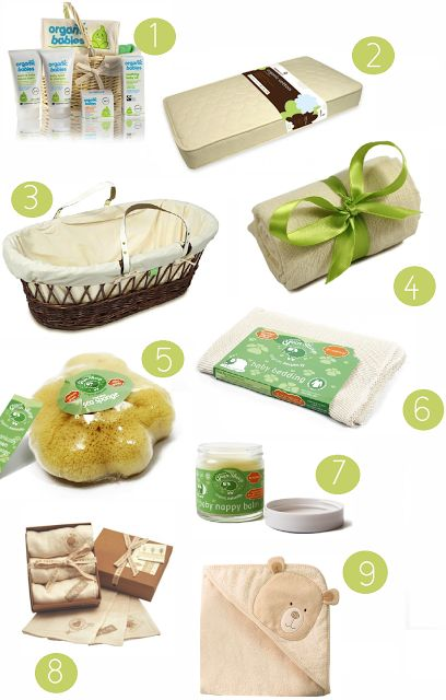 * Organic Baby Products For New Mums