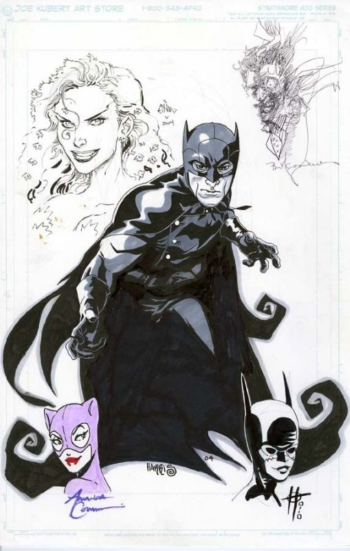 Batman by Tony Harris, The Joker by Bill Sienkiewicz, Catwoman by Amanda Conner, Poison Ivy by Ethan Van Sciver, Cassandra Cain Batgirl by Damion Scott * ✤ || CHARACTER DESIGN REFERENCES | キャラクターデザイン | çizgi film • Find more at https://www.facebook.com/CharacterDesignReferences & http://www.pinterest.com/characterdesigh if you're looking for: bande dessinée, dessin animé #comics #cartoon || ✤