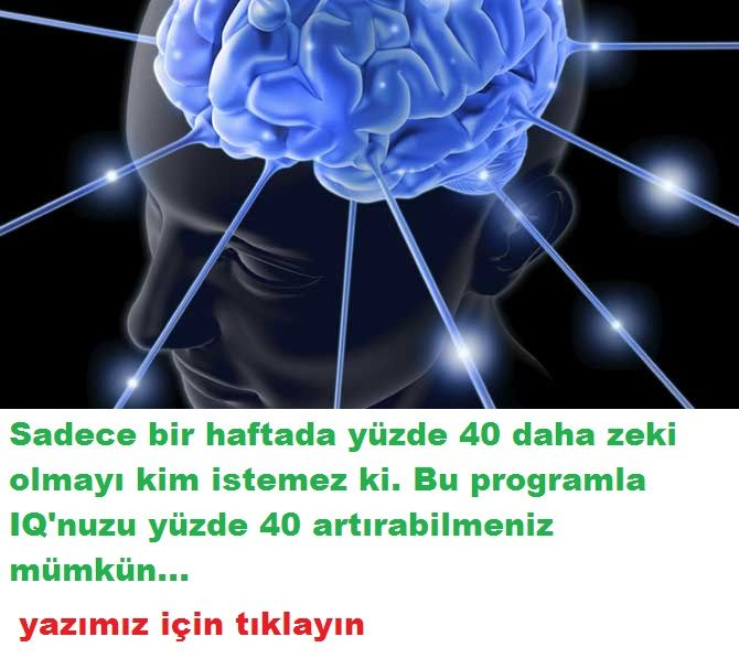 IQ'NUZU  ARTTIRAN PROGRAM DENEYİN!!