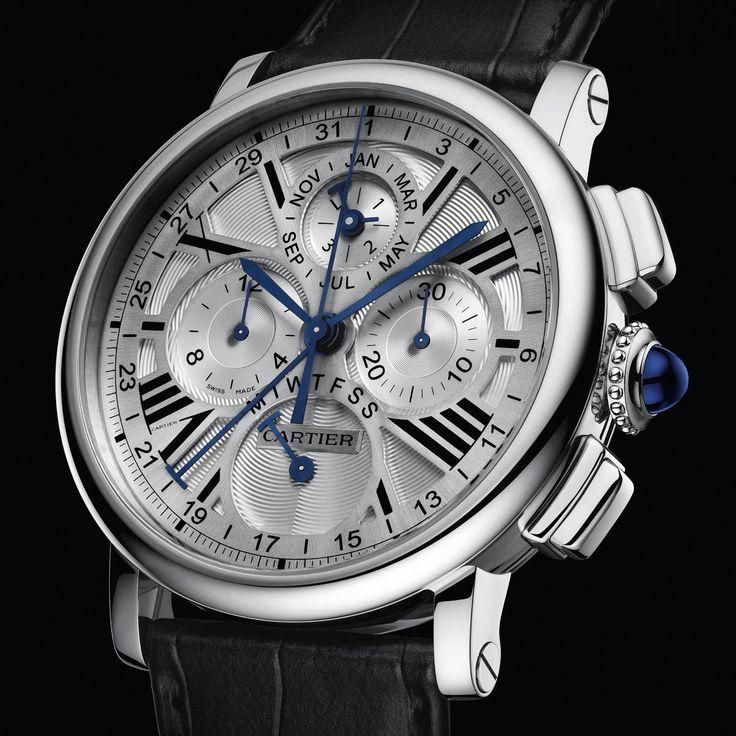 Cartier Rotonde Perpetual Calendar Chronograph