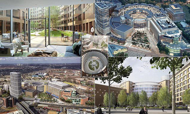 First of 950 homes built at former BBC TV Centre go on sale this week
