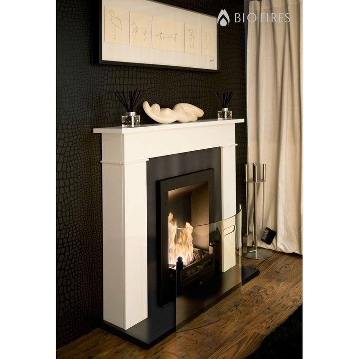 25+ parasta ideaa Pinterestissä: Gel fireplace | Betoni ja Patiot