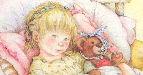 Волшебные и романтические картины Лизи Мартин о детях