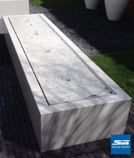 Moderner Gartenbrunnen Designerbrunnen