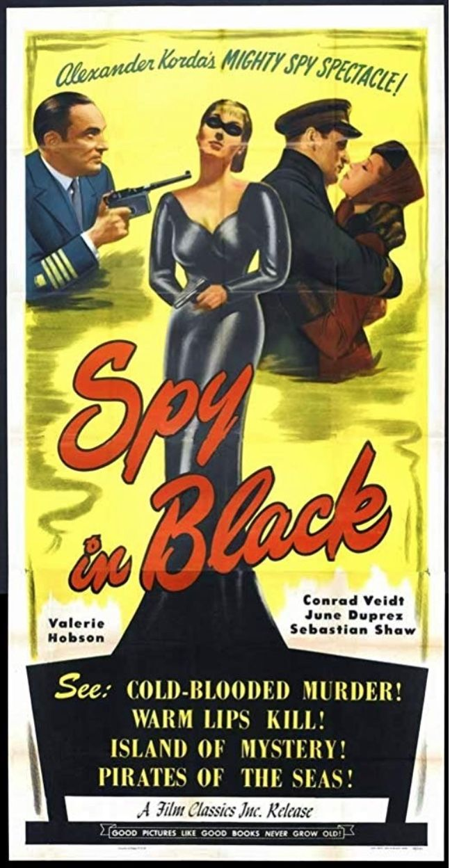 The Spy In Black 1939 Conrad Veidt Was The Original Inspiration For The Joker Poster By Imdb