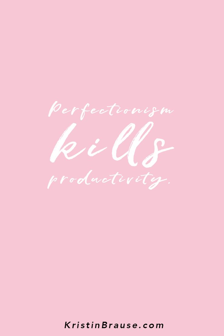 Best 25 business women quotes ideas on pinterest successful perfectionism kills productivity in business and life no matter if you are a blogger magicingreecefo Choice Image