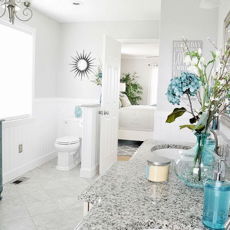 Bathroom Makeovers With Wainscoting 1462 best bathroom images on pinterest   bathroom ideas, room and