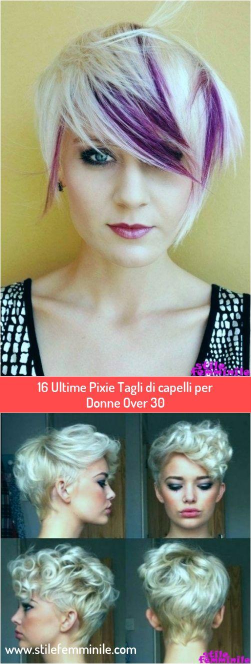 16 Ultimi tagli di capelli Pixie per donne oltre i 30 anni ...