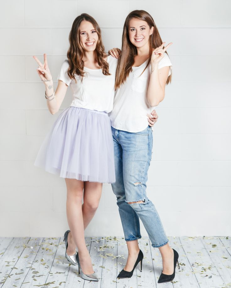"Yana + Lisa: ""Our skirts are for real girls, effortlessly chic, who want to run the world. So if you're the one, let's do it! Let's fall in love!"""