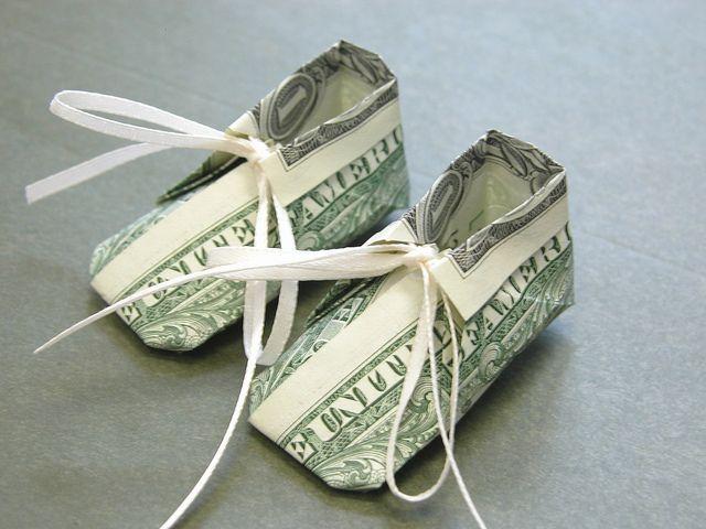 Dollar bill baby shoe – #baby #bill #dollar #dolla…