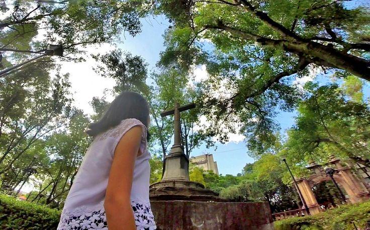 Remaining fragments of a sixteenth century convent in the middle of Mexico City.  /  Fragmentos que quedan de un convento del siglo XVI, en medio de la ciudad de México.    #GoPro #GoProMx #GoProTravel #PhotoOfTheDAy #InstaGood #Me #México #PicOfTheDay #InspiredByYou #BeAHero #GoProHero #GoPole #LoveToGoPro #GoProMoff #ab #FotoDelDía #MochileroMx#Travel #CDMX #CiudadDeMéxico#Tlatelolco #MéxicoDesconocido#JardíndeSantiago #VisitMexico