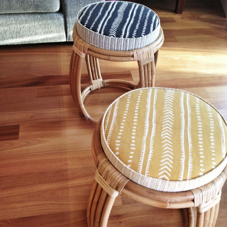 Drum Stool Pic via The Orchard Blog