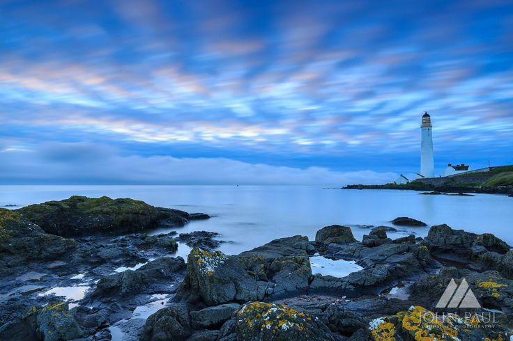 Scurdie Ness Lighthouse near Montrose.