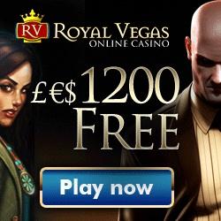 New Casino Player Promotion | Royal Vegas Online Casino- Visit www.bonuscounter.com for more details...