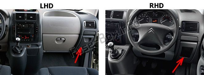 peugeot expert fuse box location wiring diagram \u0026 cable Peugeot Expert Fuse Box 2010 fuse box on peugeot expert wiring