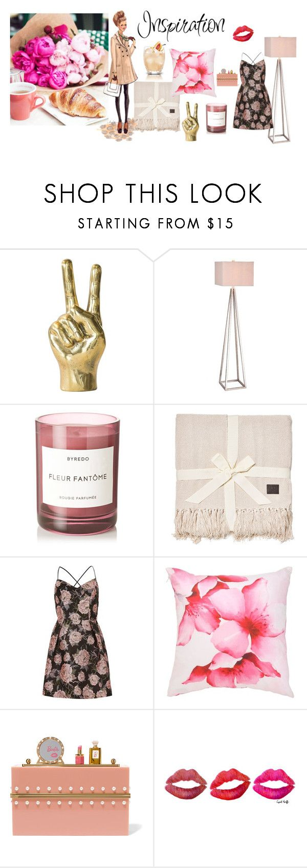 """""""Pinks & florals"""" by phillips-sally ❤ liked on Polyvore featuring interior, interiors, interior design, home, home decor, interior decorating, JAlexander, Byredo, UGG and River Island"""
