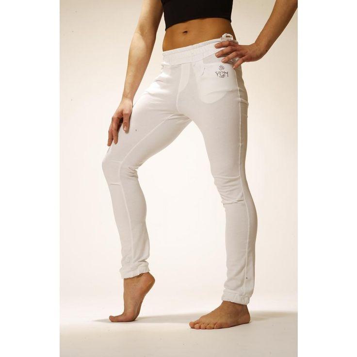 Yogin Kundalini White Pants: 9.900 Ft