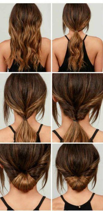 10 Peinados super sencillos de hacer que le facilitarán la vida a las chicas con cabello largo