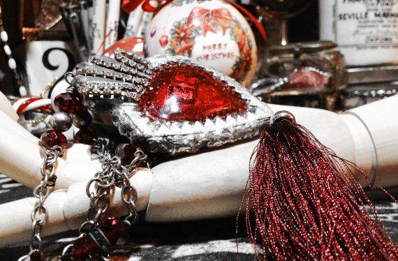 Merry ChristMas Relics Hearth ExVoto di LeGrenierdesPatines