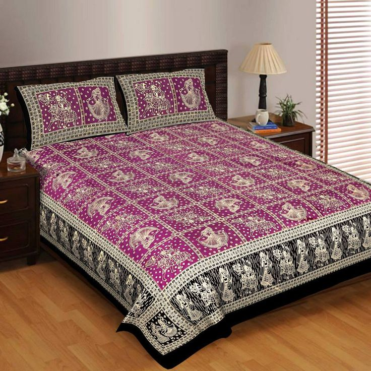 Stylish Double Bed Sheets India... Coming Soon. Till