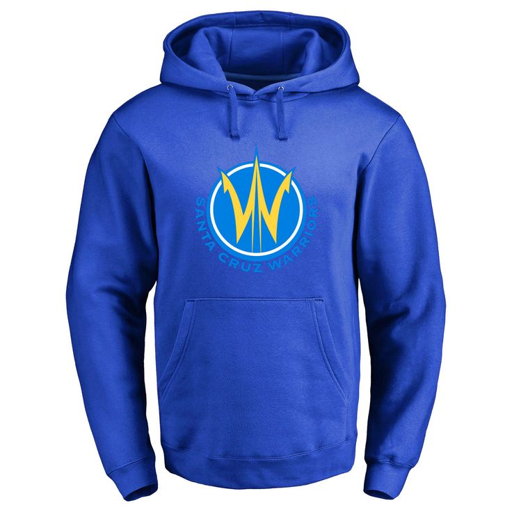 Santa Cruz Warriors Primary Logo Pullover Hoodie - Royal - $54.99