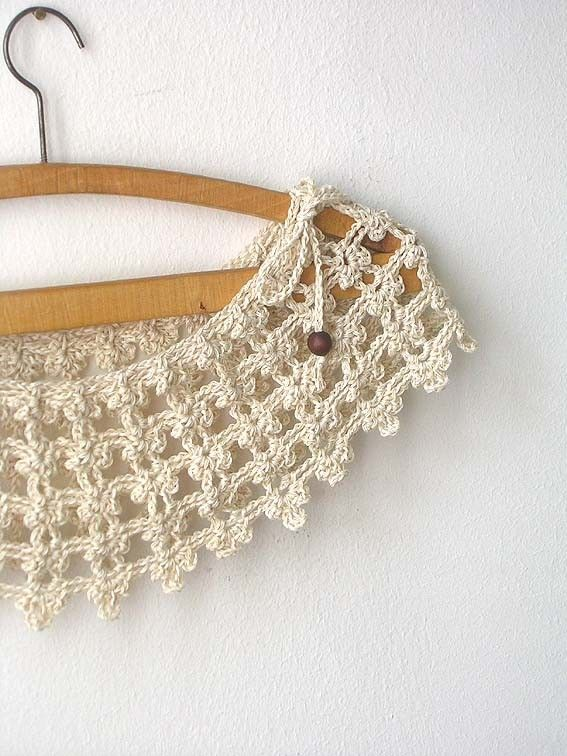 Champagne Lace Collar by callmemimi on Etsy, €37.00