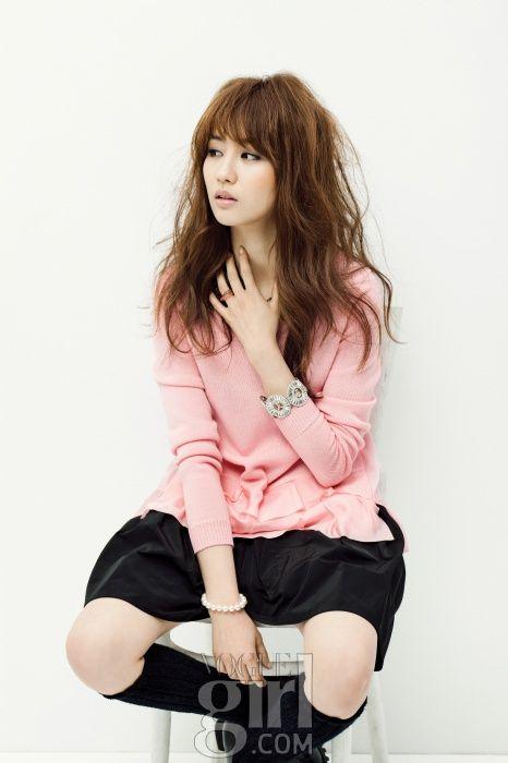 Park Ha Sun Vogue Girl March 2013