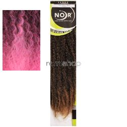 Mon Aug 15, 2016 - #5: Noir Afro Twist Braid  - Color OE2TPINK - Synthetic Braiding