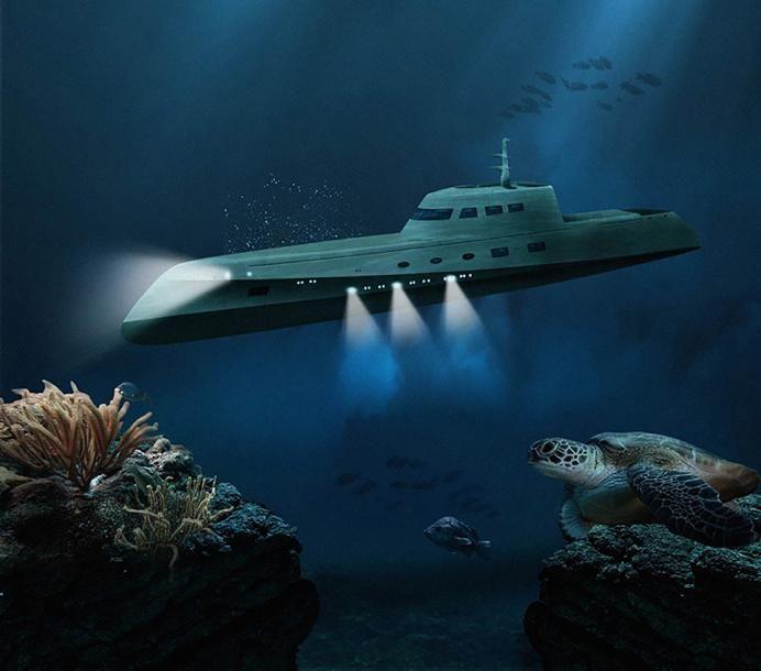 LOVERS DEEP: Compañía De Viajes Ha Lanzado El Viaje 'Bajo Agua' Más ROMÁNTICO De Todo El MUNDO – En Un Lujoso Hotel-Submarino