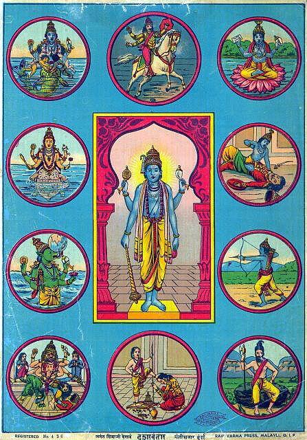 Vishnu avatars