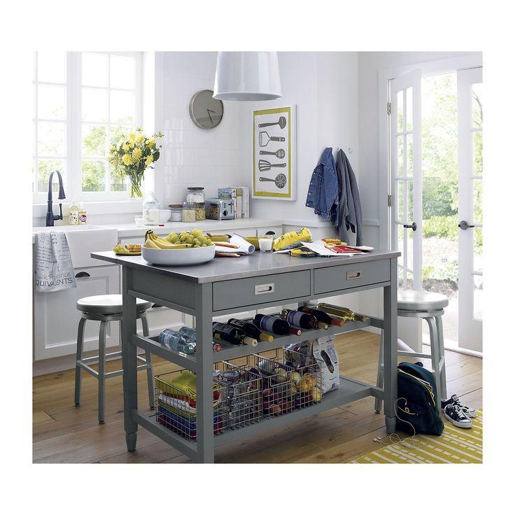 Grey Kitchen Pinterest: 1000+ Ideas About Grey Kitchen Island On Pinterest