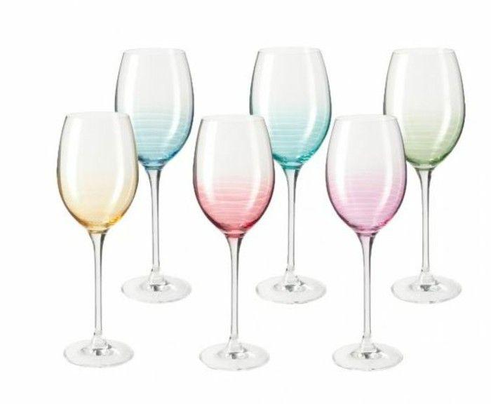 Leonardo wine glass architecture of the wine glass Tulip weissweingals cheers