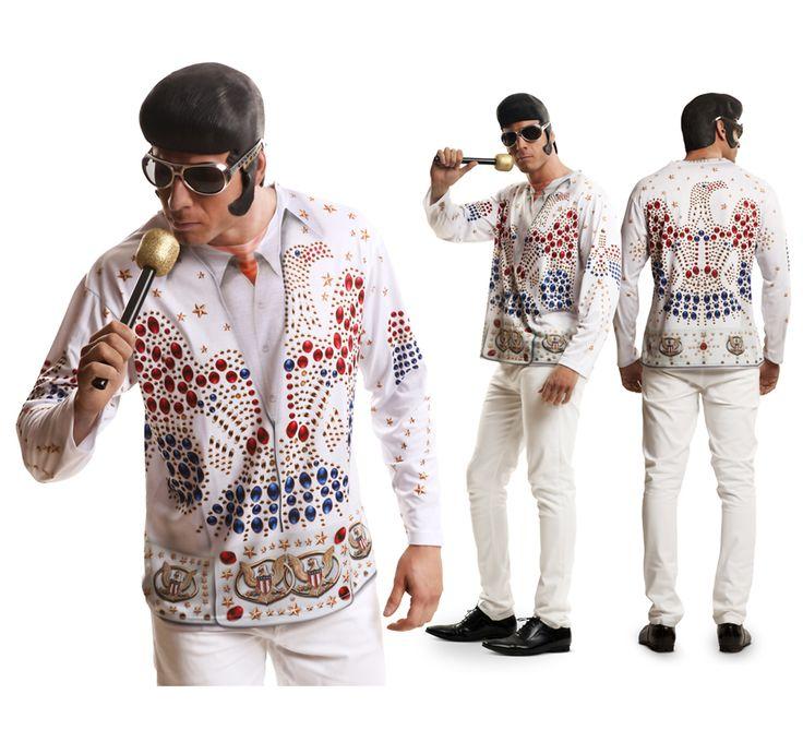#Camiseta #Disfraz de Rey del #Rock para el #DíadelPadre. #fathersday #costume #gift #regalo #elvis #elvispresley