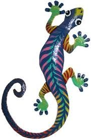 papier mache gecko - Google Search